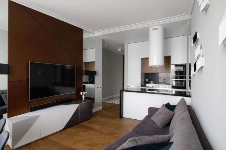 Маленькая квартира в стиле минимализм - Дизайн интерьера