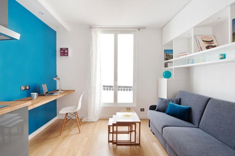 Маленькая квартира в скандинавском стиле - Дизайн интерьера