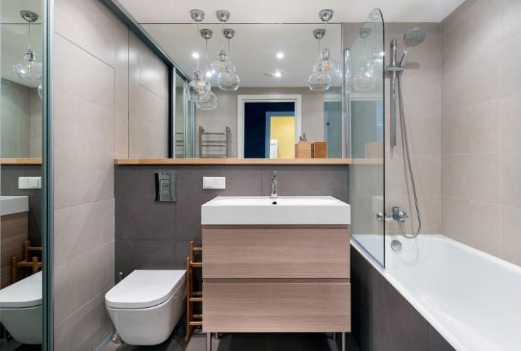Ванная комната - Дизайн маленькой квартиры