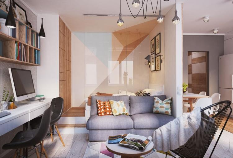 Расстановка мебели - Дизайн маленькой квартиры