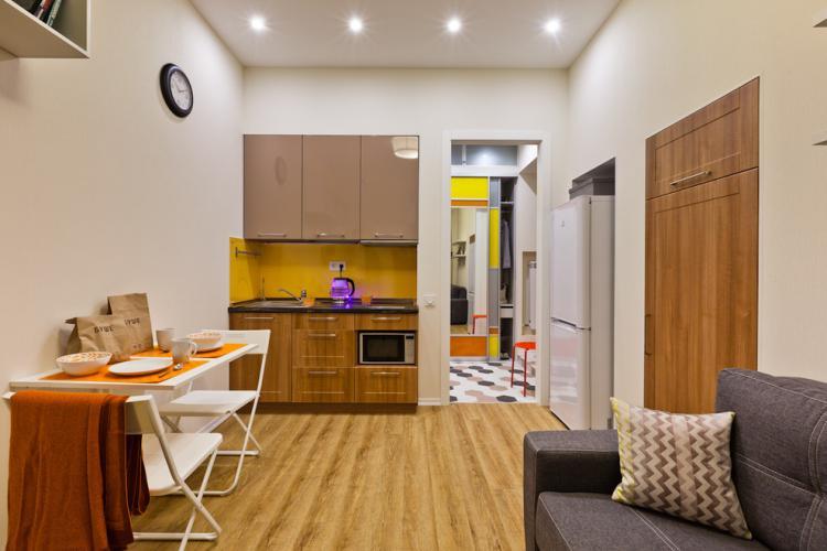 Правильное освещение - Дизайн маленькой квартиры