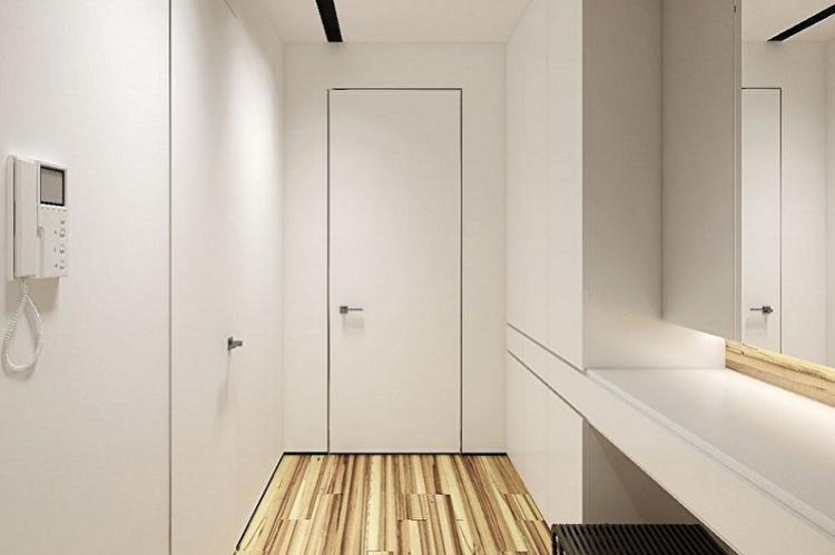 Выбирай минималистичные стили - Дизайн маленькой прихожей