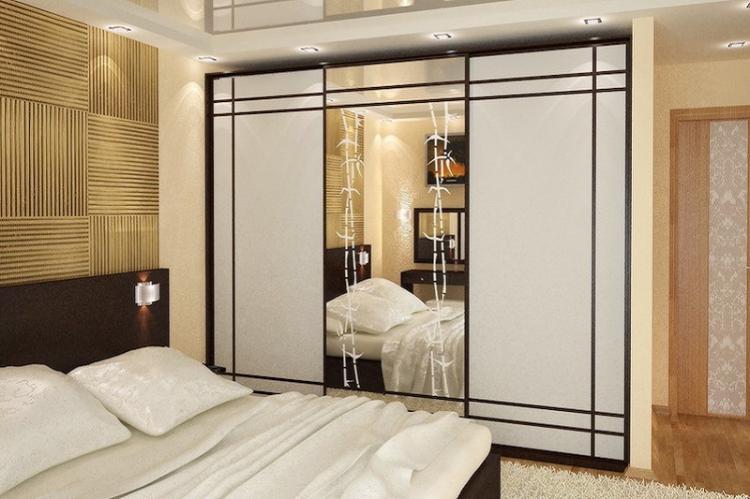 Что делать с нишей - Дизайн маленькой спальни