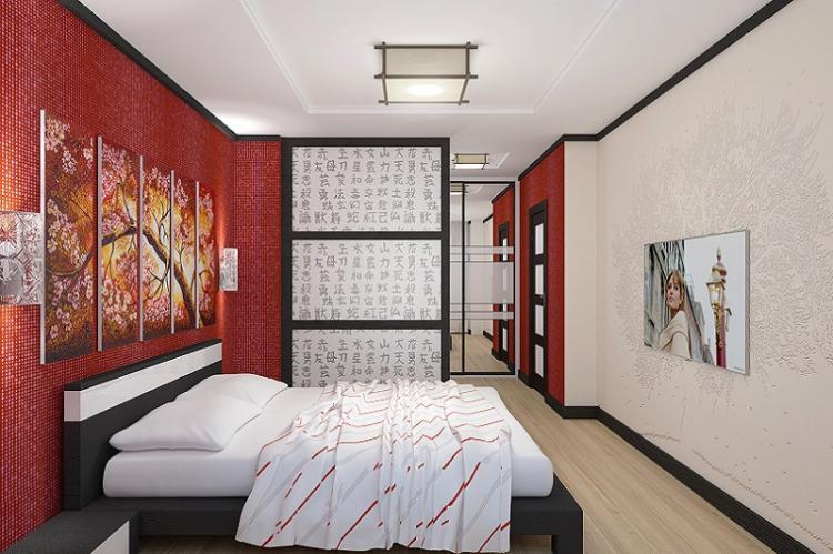 Стиль интерьера - Дизайн маленькой спальни