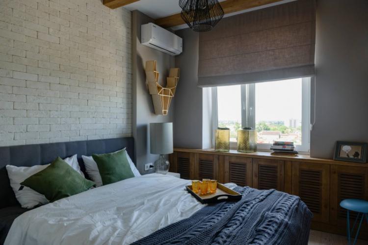 Шторы - Дизайн маленькой спальни