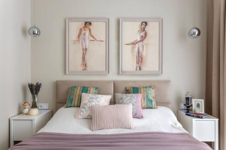 Декор - Дизайн маленькой спальни