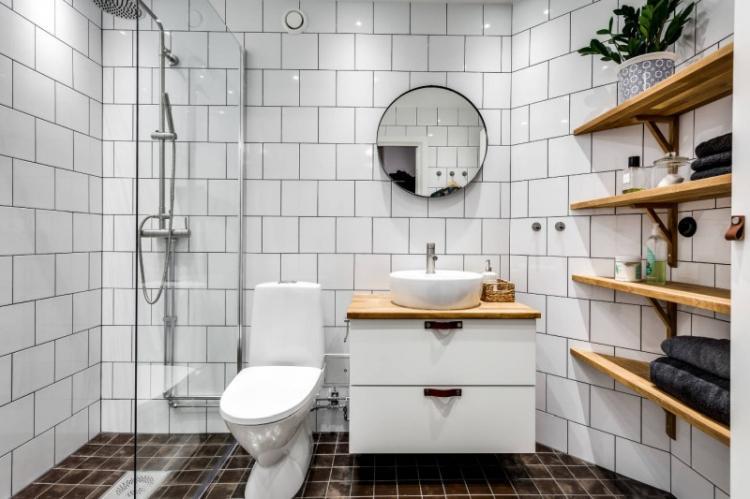 Перепланировка и совмещенный санузел - Дизайн маленькой ванной комнаты