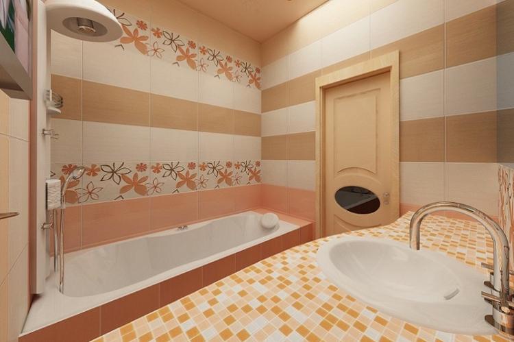 Особенности отделки - Дизайн маленькой ванной комнаты