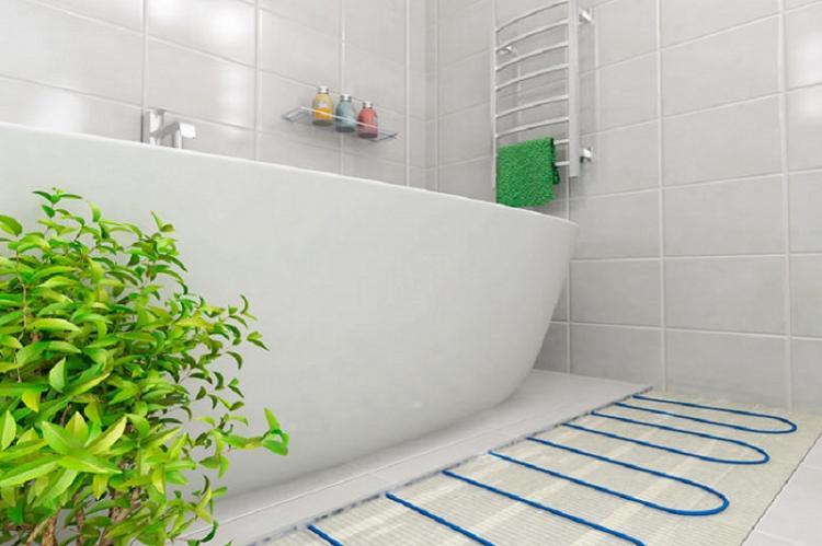 Не забудь про теплый пол - Дизайн маленькой ванной комнаты