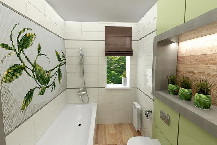 Минималистичные стили интерьеров - Дизайн маленькой ванной комнаты