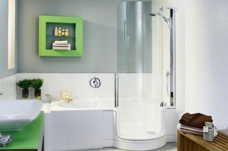 Ванна или душевая кабина - Дизайн маленькой ванной комнаты
