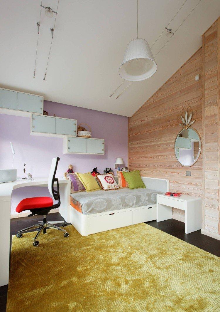Цветовые решения - Дизайн мансарды