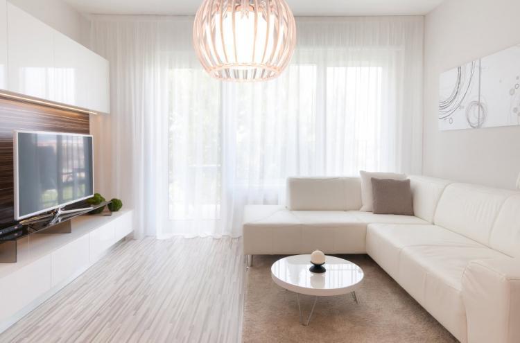 Светлые тона - Цветовая палитра для однокомнатной квартиры 40 кв.м.