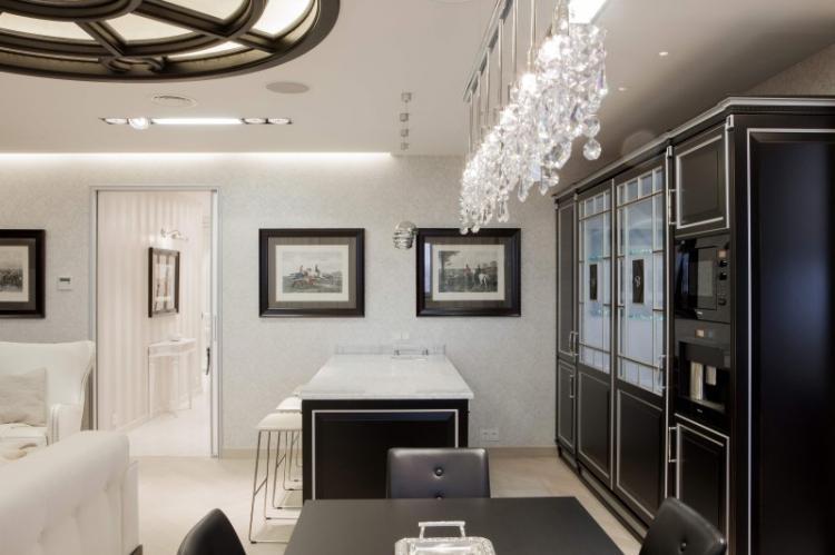 Неоклассика - Дизайн однокомнатной квартиры 40 кв.м.