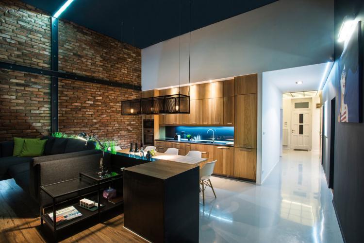 Дизайн однокомнатной квартиры 40 кв.м. - фото
