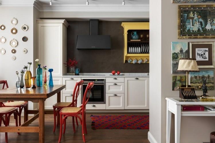 Дизайн однокомнатной квартиры (80+ фото)