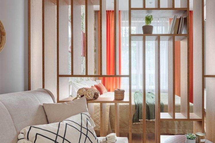 Квартира для шеф-повара в Молоково - Дизайн однокомнатной квартиры