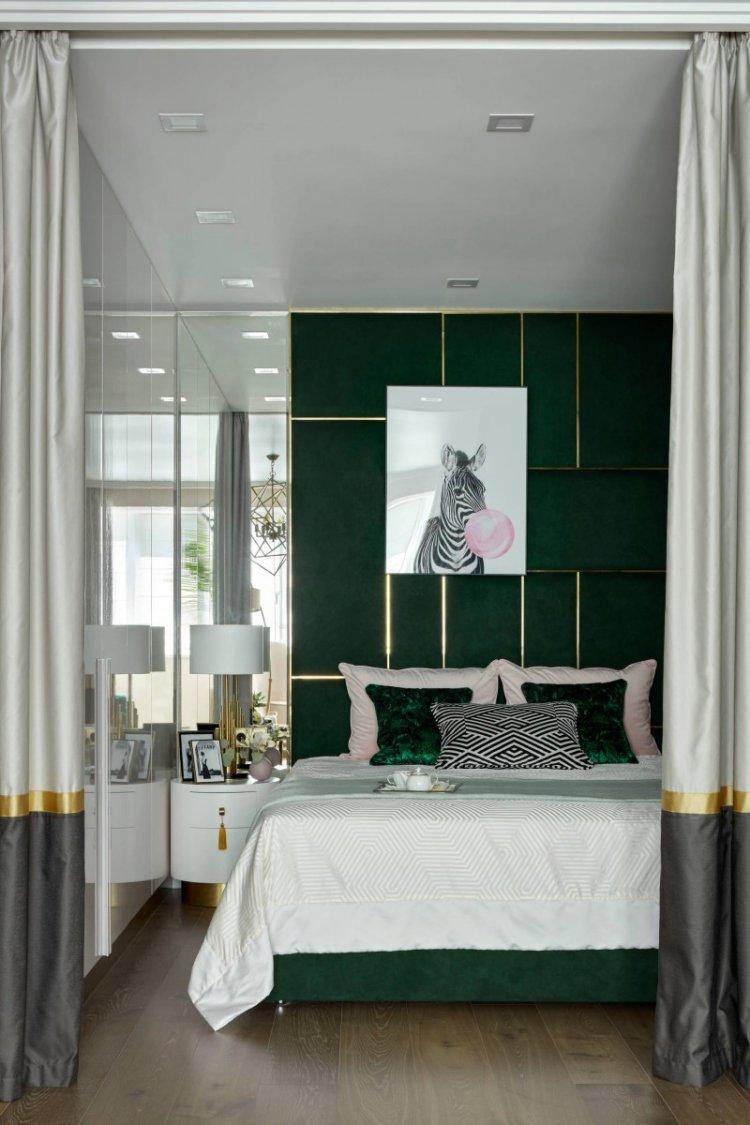 Тропики в панельном доме - Дизайн однокомнатной квартиры