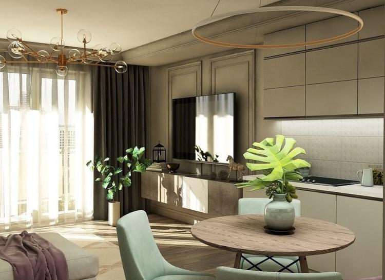 Дизайн-проект квартиры 30 кв.м.