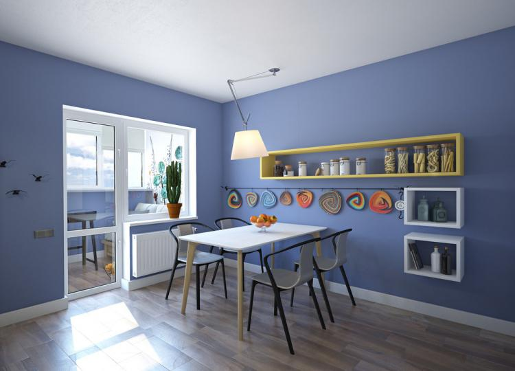 Дизайн-проект квартиры «Цвет настроения»