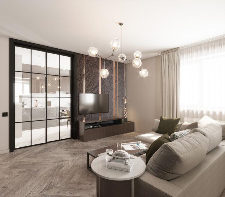 Дизайн-проект квартиры «Green Park»
