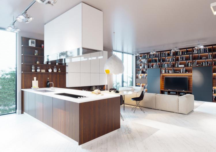 Дизайн-проект квартиры «White sky»