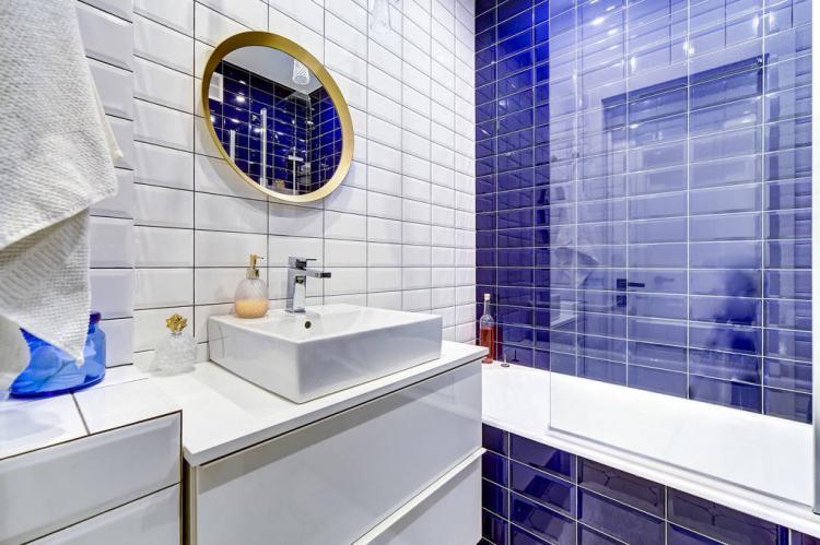 Дизайн совмещенного санузла 4 кв.м. - фото реальных интерьеров