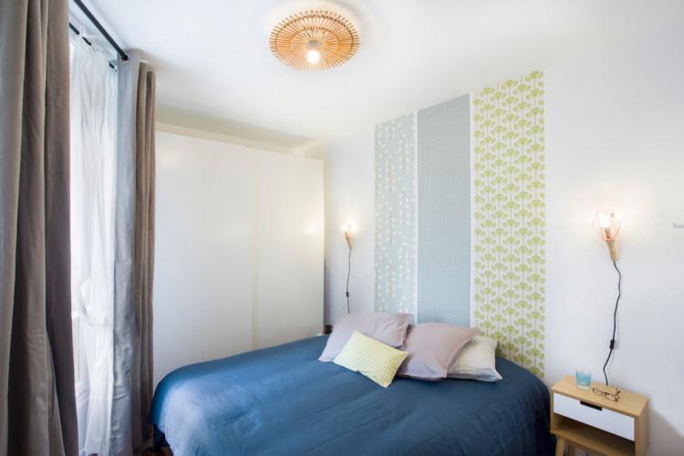 Белая спальня 10 кв.м. - Дизайн интерьера