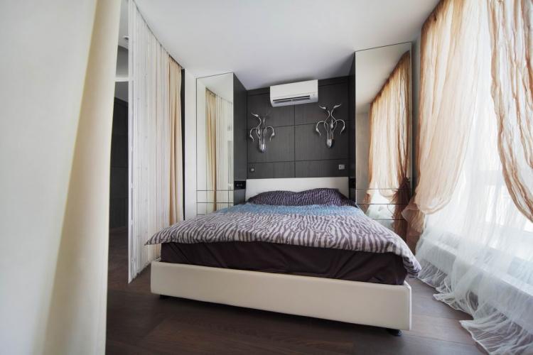 Отделка пола - Дизайн спальни 10 кв.м.