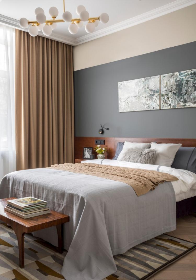Дизайн спальни 10 кв.м. - фото реальных интерьеров