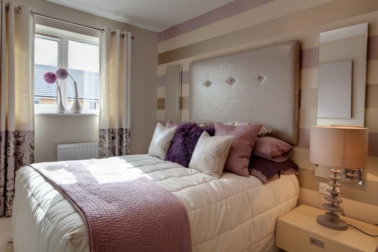 Розовая спальня 12 кв.м. - Дизайн интерьера
