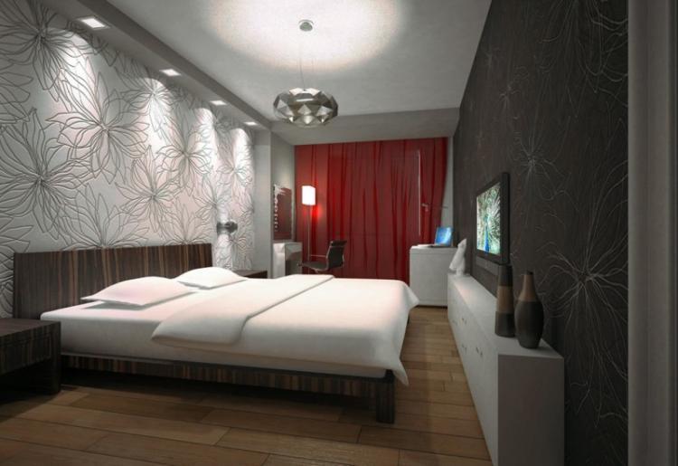 Освещение и подсветка - Дизайн спальни 12 кв.м.