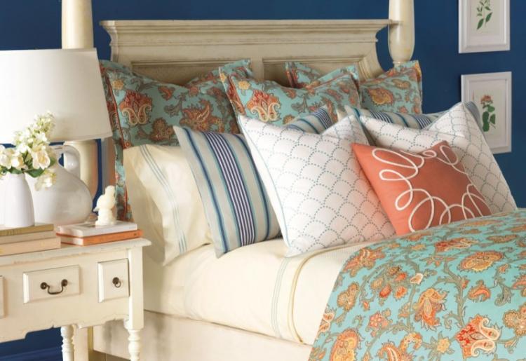 Текстиль - Дизайн спальни 12 кв.м.
