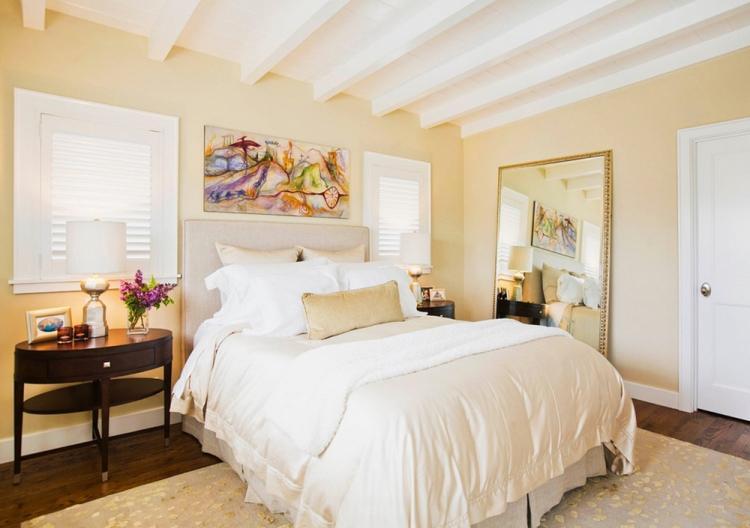 Бежевая спальня - Дизайн спальни 2019
