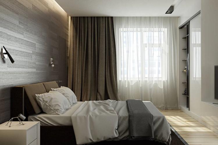 Минимализм - Дизайн спальни 2019