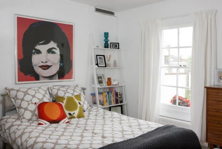 Поп-арт - Дизайн спальни 2019