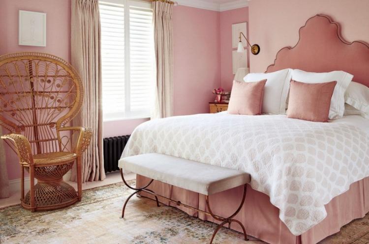 Романтический стиль - Дизайн спальни 2019
