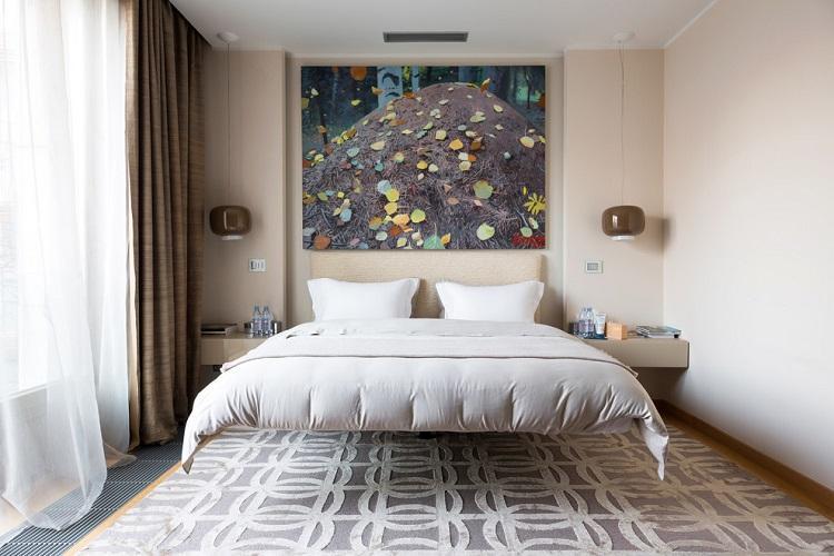 Как оформить дизайн спальни 9 кв.м. (85 фото)