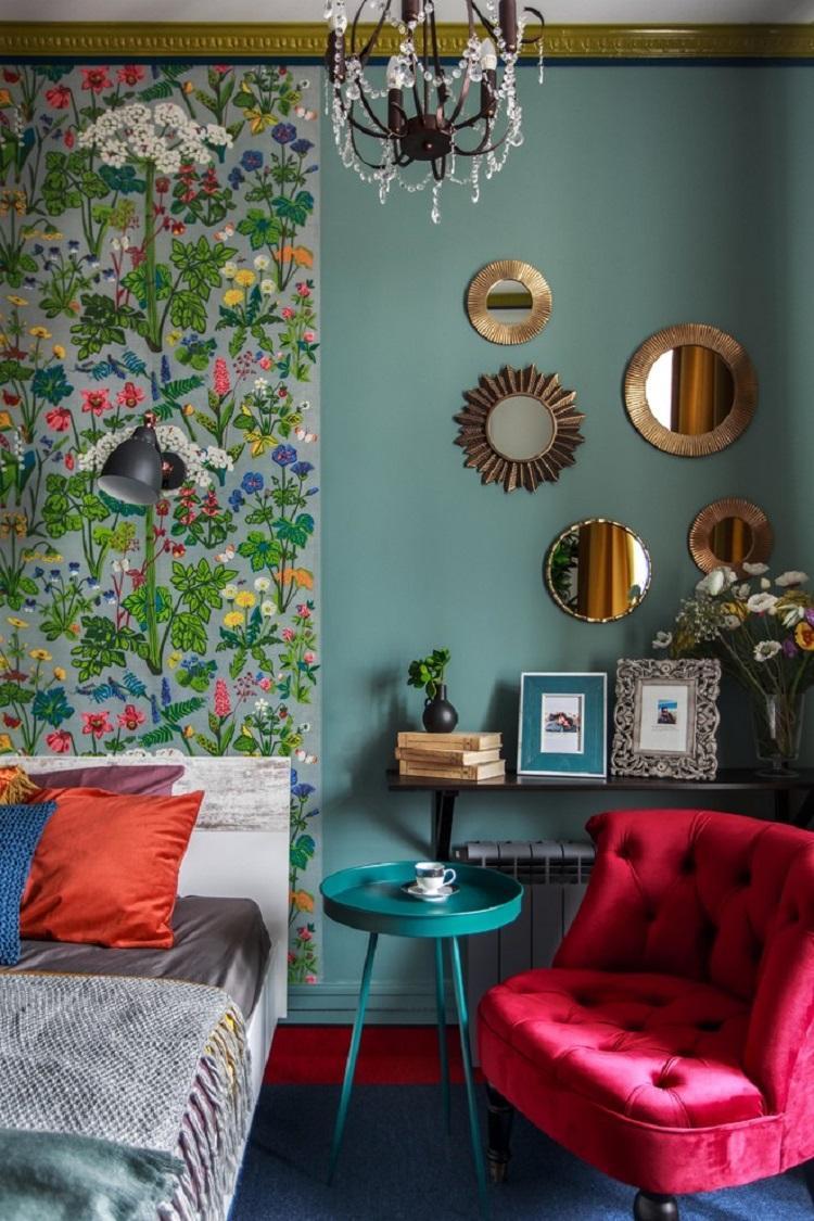 Декор и текстиль - Дизайн спальни 9 кв.м.