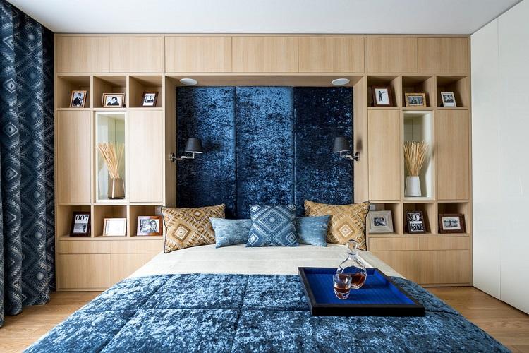 Мебель - Дизайн спальни 9 кв.м.