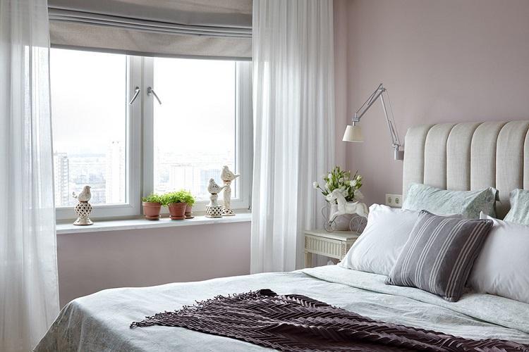 Освещение и подсветка - Дизайн спальни 9 кв.м.