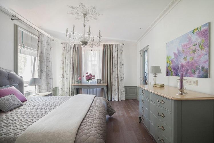 Дизайн интерьера спальни 9 кв.м. - фото реальных интерьеров