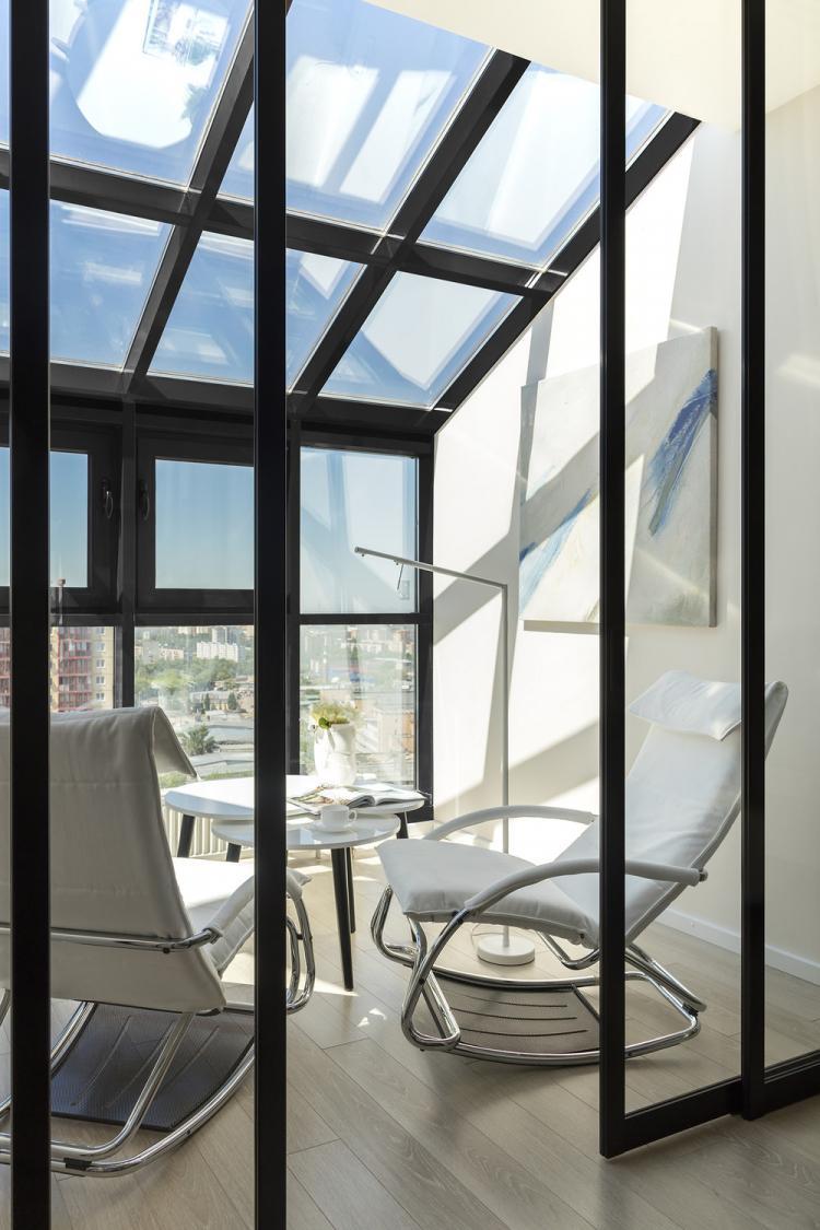 Дизайн спальни с террасой