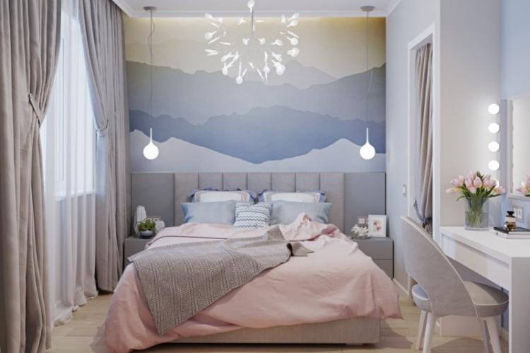 Правильное освещение - Дизайн спальни в хрущевке