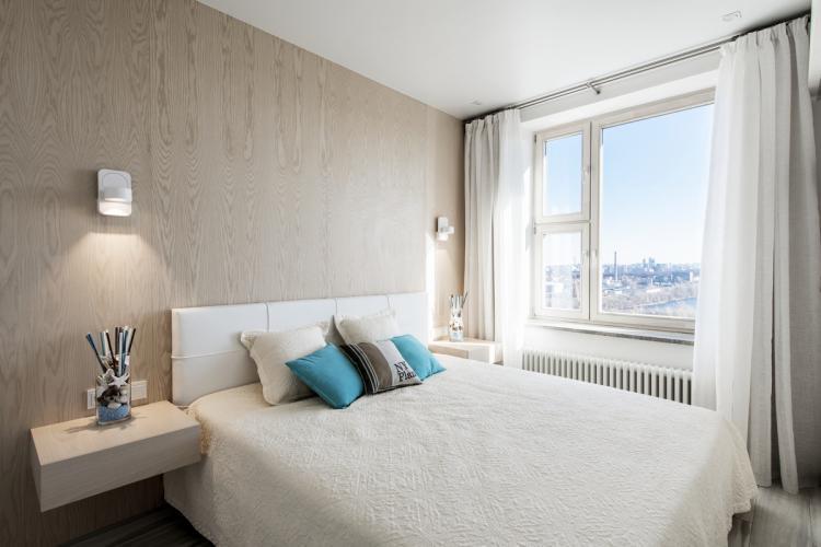 Минималистичные стили - Дизайн спальни в хрущевке