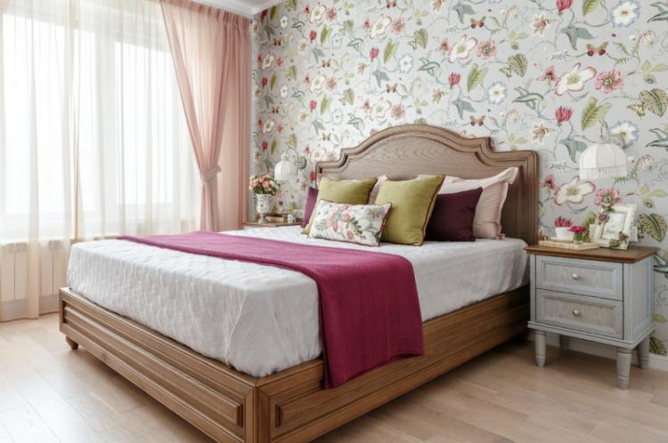 Декоративные стили - Дизайн спальни в хрущевке