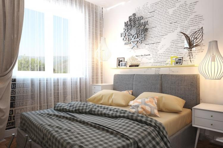 Дизайн спальни в хрущевке - фото реальных интерьеров