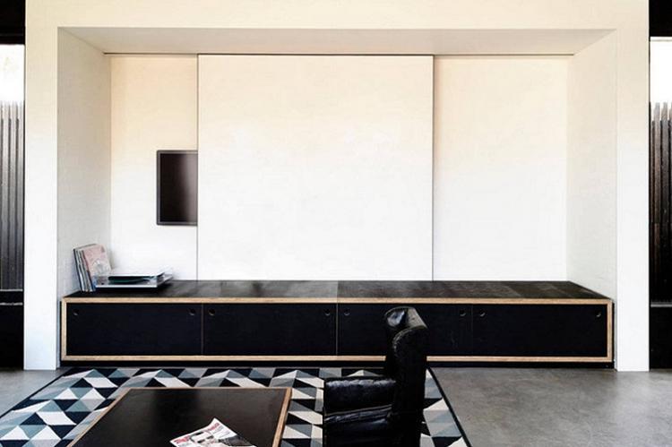 Как спрятать телевизор на стене - Дизайн