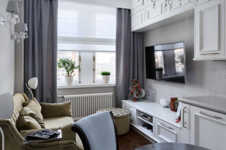 Особенности планировки и дизайна - Узкая гостиная