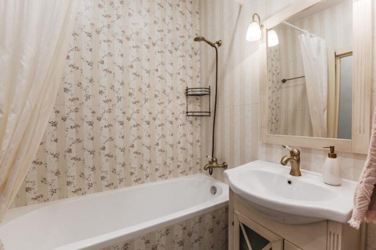 Ванная комната 2 кв.м. в классическом стиле - Дизайн интерьера